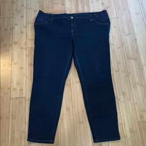 GAP maternity true skinny jeans
